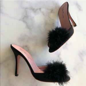 Agent Provocateur Black Puff Heels